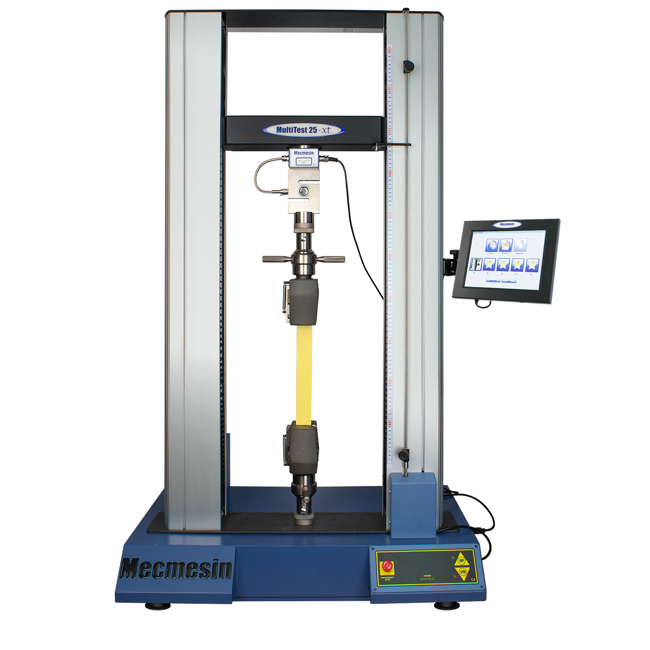 MultiTest twin-column (high capacity 10-50 kN) tensile testing machine with touchscreen console
