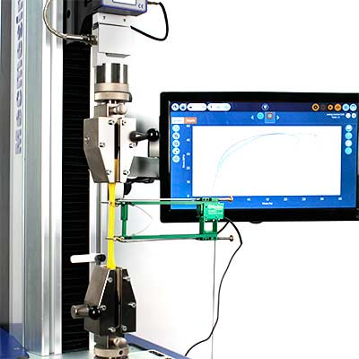 VectorPro MT gives accurate material property results and is touch-screen enabled